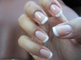 shellac nails french manicure colors rajawali racing