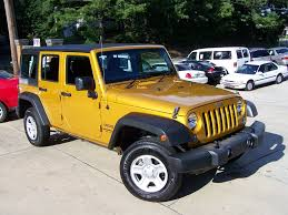 orange jeep rubicon orange jeep wrangler in georgia for sale used cars on buysellsearch