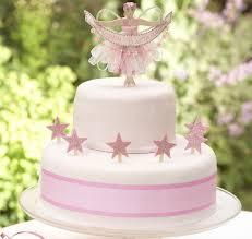 fairy cake topper pink fairy cake decoration set