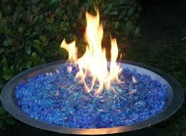 Fire Glass Fire Pit by Fireplace Glass San Diego