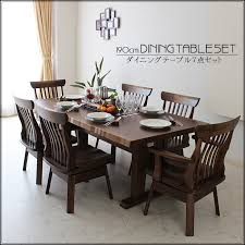 Dining Table And Chairs For 6 Kagunomori Rakuten Global Market New 190 Cm Dining Table
