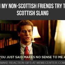 Meme Slang - scottish slang by splitcell meme center