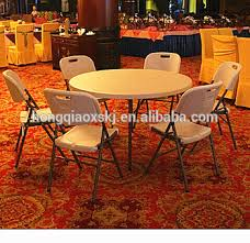 round party tables for sale round 6 seats hotel hall catering table 122 74cm heavy duty blow