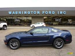 2011 Black Mustang 2011 Kona Blue Metallic Ford Mustang V6 Mustang Club Of America