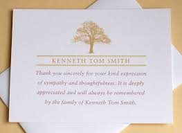 thank you for funeral flowers 16 best funeral thank you card images on funeral thank