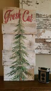 diy white and blue christmas tree