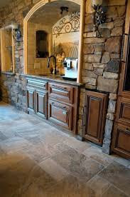 Stone Kitchen Flooring by Best 25 Stone Wall Tiles Ideas On Pinterest Small Shower Room