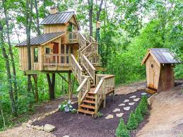three house bird barn treehouse nelson treehouse