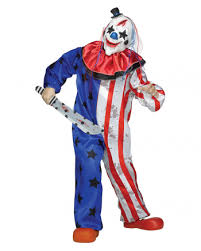 clown costume horror circus clown costume with mask for horror shop