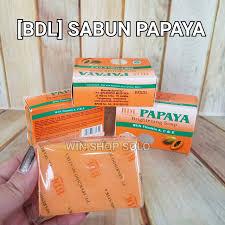 Sabun Rdl bdl sabun papaya bdl original brightening soap pengganti rdl wsp