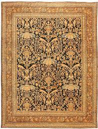 Rug Gold Beautiful Antique Persian Mahal Sultanabad Rug 42931 By Nazmiyal