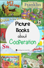 books about cooperation the kindergarten connection