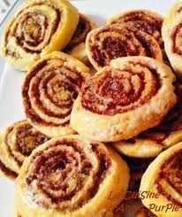 cannelle cuisine cinammon rolls ou roulés à la cannelle la cuisine d purple