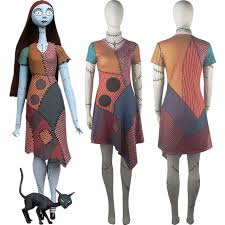 the nightmare before sally prom dress