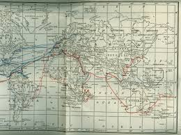 Map North Africa by French Line Tourist Map Of France Paris North Africa With Sea