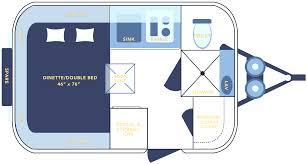 casita trailer floor plan vitrines