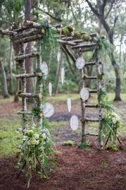 Wedding Arch Kent Rustic Wedding Arch This Timber Wedding Arch With Draping White