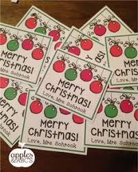 cute idea for a christmas gift for classmates or friends includes