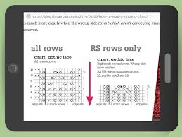 3 ways to read a knitting pattern wikihow