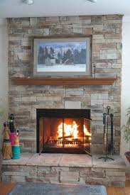 how much to install gas fireplace mountain stack stone 6 6 wide with returns 3 deep