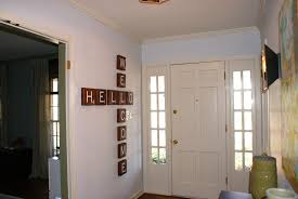Home Letters Decoration by Accessories Oversized Scrabble Letter With Person Name On The