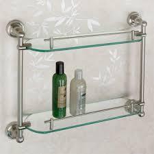amazing glass shelves for bathroom home decorations how glass