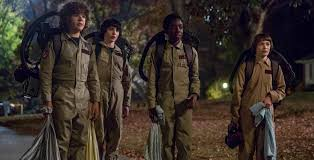 syfy hidden stranger things 2 clip finds the gang running into a