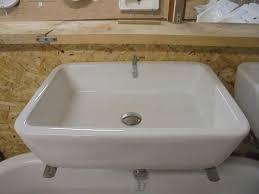 rectangular reclaimed bathroom sink authentic reclamation