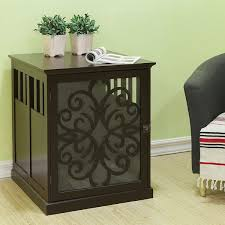 Diy End Table Dog Crate by 20 Best Dog Kennel Ideas Images On Pinterest Dog Kennels Kennel