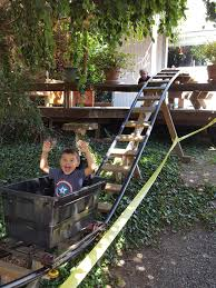 r diy i built a backyard roller coaster for my grandkids u2013 diy already