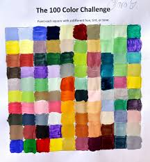 Challenge Mix Color Mixing Challenge Mix 100 Different Colors Lessons From