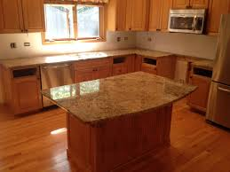 granite countertop how to install pantry cabinet beige glass