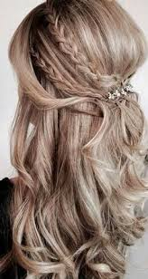 25 beautiful half up half down bridal hair ideas on pinterest