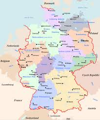 Bavaria Germany Map by Germany Map Travel
