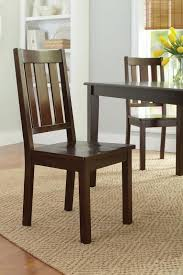 2 Dining Room Chairs Mainstays Dining Chairs Set Of 2 Finish