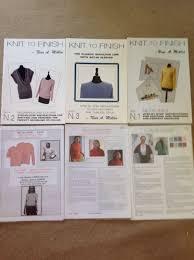 nina miklin machine knitting patterns and books in jpg