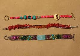 bead string bracelet images Modern friendship bracelets diy a beautiful mess