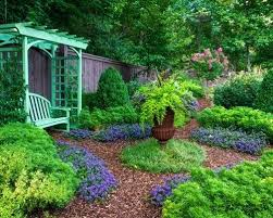 Rustic Backyard Ideas Landscaping And Mulch Design Ideas For A Rustic Backyard Mulch