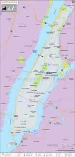 manhattan on map manhattan map manhattan neighborhood map map of manhattan ny