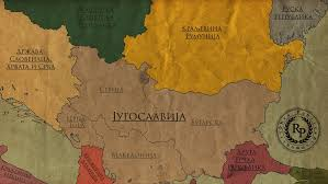 Yugoslavia Map Great Yugoslavia By Tzevaot On Deviantart