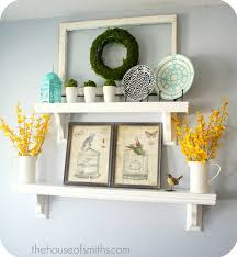 decorating ideas for kitchen shelves tutes tips not to miss 25 shelving blank walls and interior