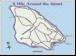 map of mackinac island runmackinac 8 mile road race