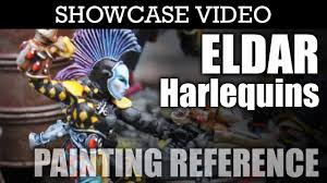 painted eldar harlequins warhammer 40k showcase hd images and