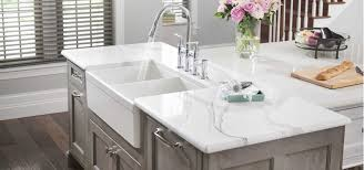 kitchen double handle stainless steel faucet with windows blind
