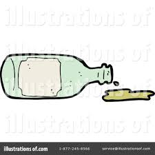 cartoon alcohol bottle spill clipart 1148279 illustration by lineartestpilot