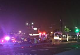 hudson light rail schedule light rail service on schedule in newark after crash nj com