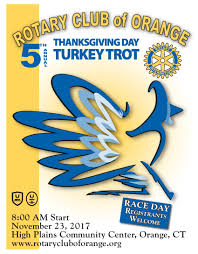5th annual rotary club of orange thanksgiving day 5k