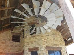 large rustic ceiling fans if i can just make my living room ceilings high enough for something