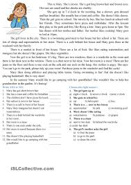 thanksgiving comprehension passages reading comprehension esl worksheets of the day pinterest