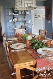 dining room table decorating ideas 27 easy thanksgiving centerpieces for your table diy